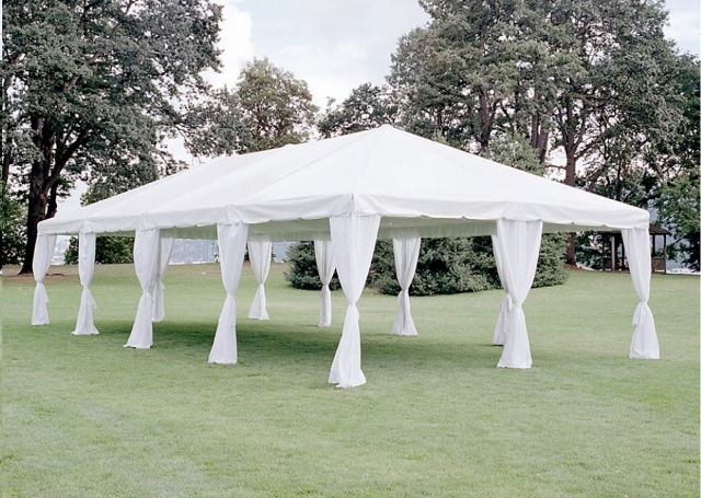 Canopy with Leg Drapes