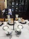 Rental store for Candle Holder, 4-light Willow-ob in Portland OR