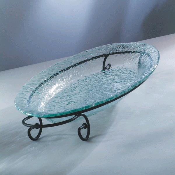 Where to find GLASS 1-TIER OVAL TRAY in Portland