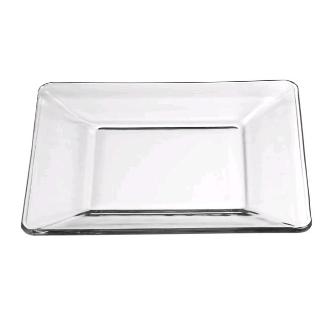 Where to find GLASS SQUARE PLATE, 8 in Portland