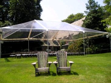 20x30 Canopy Clear Top White Trim Rentals Portland Or Where To Rent 20x30 Canopy Clear Top