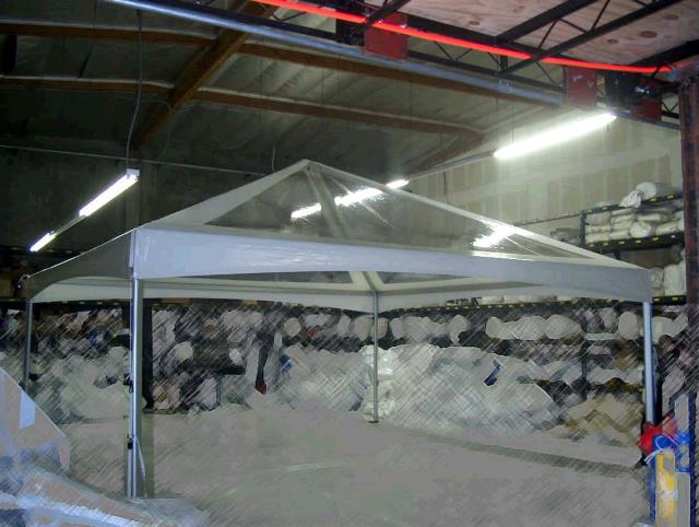 Where to find 20X20 CANOPY, CLEAR TOP, WHT TRIM in Portland