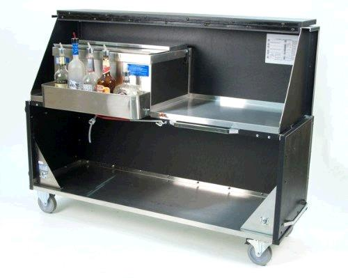 Black 5 Foot Portable Bar Rentals Portland Or Where To