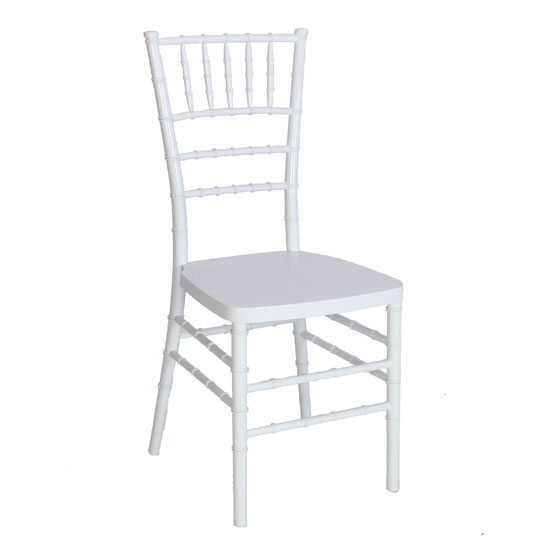 Where to find CHIAVARI WHITE RESIN CHAIR in Portland