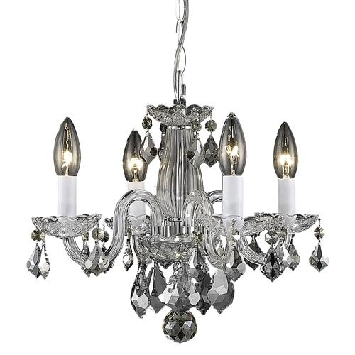 Where to find TENT, 4 LIGHT CRYSTAL CHROME CHANDELIER in Portland