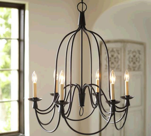 Where to find TENT, 6-ARM BIRDCAGE CHANDELIER in Portland