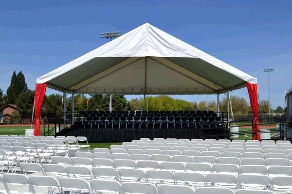 Where to find WHITE STAGE GABLE CANOPY in Portland