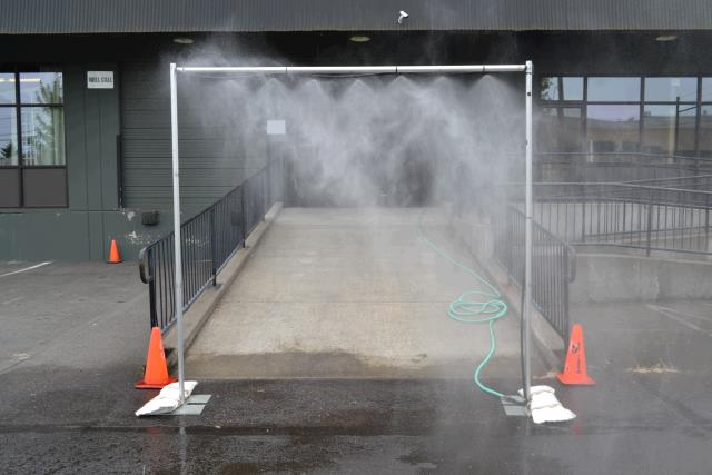 Where to find MISTING ARCH in Portland