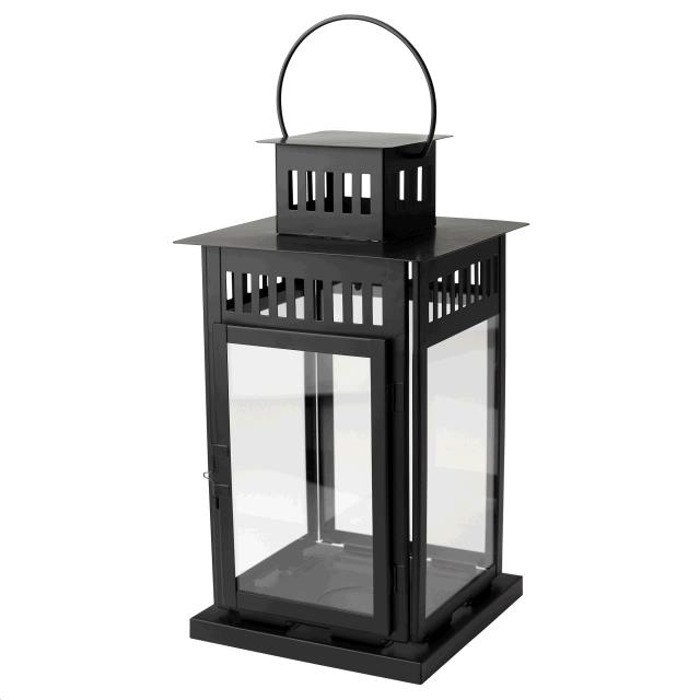 Where to find CANDLE LANTERN, 17  BLACK in Portland