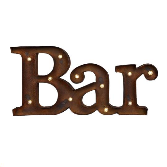 Where to find BAR SIGN, RUSTIC IRON in Portland