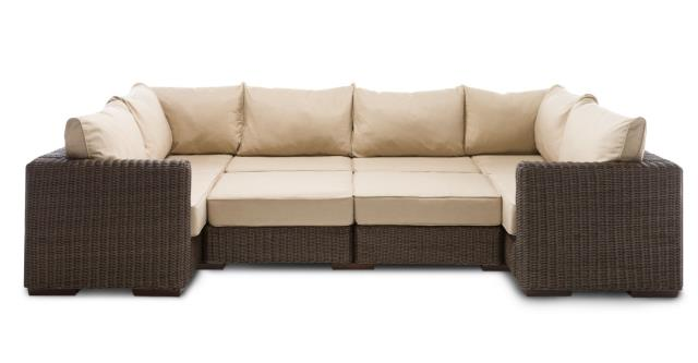 Where to find WICKER SECTIONALS MOON PIT in Portland