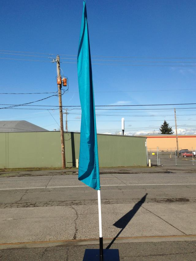 Where to find FLAG POLE W BASE, 14 in Portland