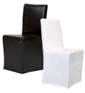 Rental store for Black Leather Chair Slipcover in Portland OR