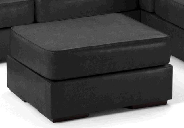 Where to find OTTOMAN, LEATHER  BLACK in Portland