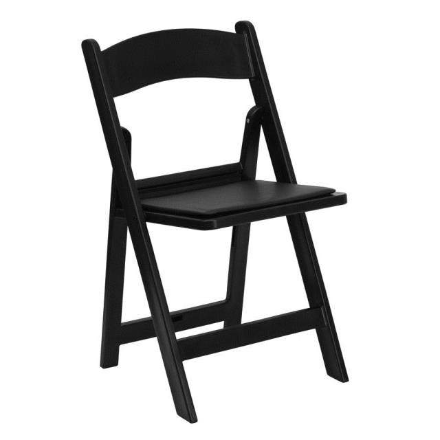 Where to find CHAIR, FOLDING BLACK RESIN in Portland