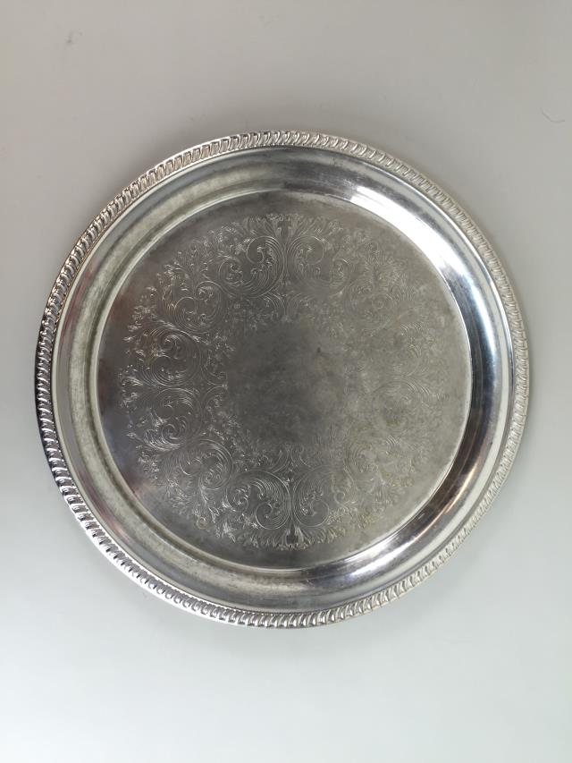 Where to find TRAY, SILVER ROUND 16 in Portland