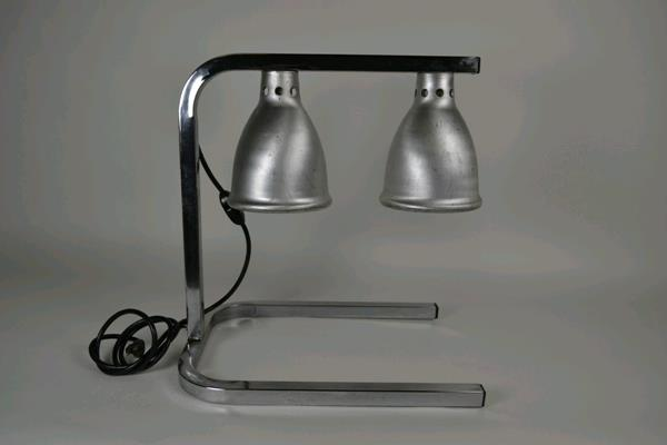 Where to find HEAT LAMP, 2 BULB CHROME in Portland