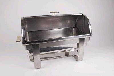 Where to find CHAFER, S.S. ROLL TOP W BRASS 8 QT. in Portland