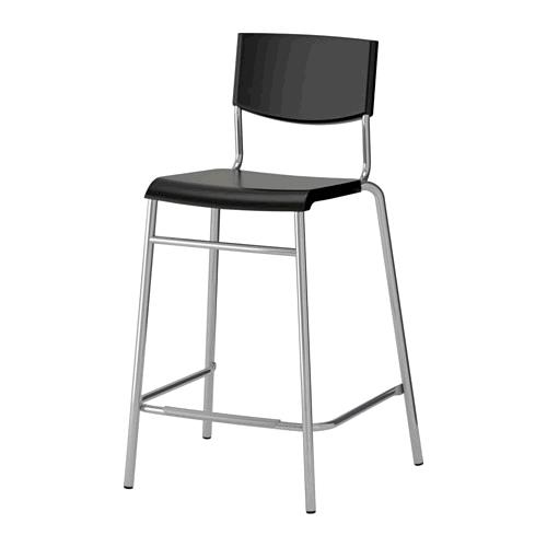 Where to find LUCITE BAR CHAIR, BLACK in Portland