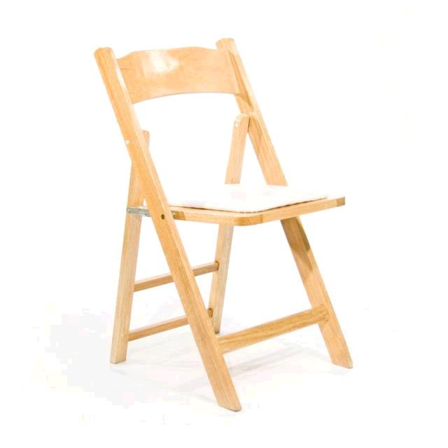Chair Folding Natural Wood Rentals Portland Or Where To Rent Chair Folding Natural Wood In