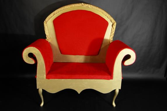 Where to find SANTA S THRONE, RED in Portland