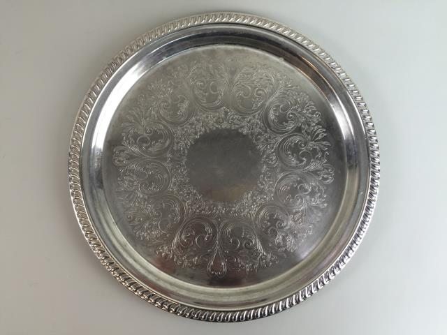 Where to find TRAY, SILVER ROUND 14 in Portland