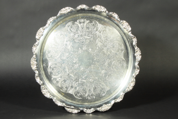 Where to find TRAY, SILVER ROUND 19 in Portland