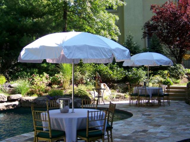 Rent your Umbrella tables, umbrellas, market umbrellas