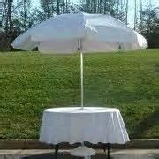 Rent your Umbrella Table Covers, Umbrella table linen rental,