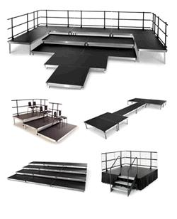 Rent your Stage, Staging, Stage Risers, Versalite Stage, Stage Rental, Stage Rentals, Wenger Stage Rental, Access Ramps, Chair Riser, Stage Stairs