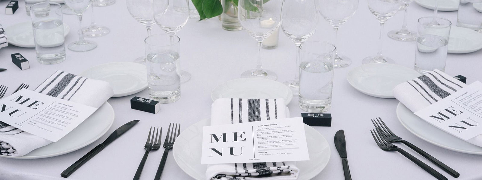 Table setting rentals in the Portland Vancouver Metro area